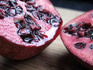 Chocolate mousse recipe - pomegranate