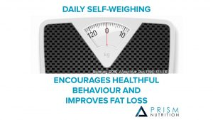 fat loss daily self-weighing